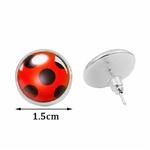 Boucles-d-oreilles-ladybug miraculous