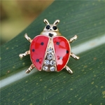 Haute-qualit-la-main-huile-insecte-broche-mode-animal-broche-strass-femme-bijoux-coccinelle-broche