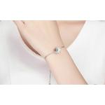 Bracelet coccinelle femmeargent