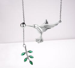 collier-colibri-argent