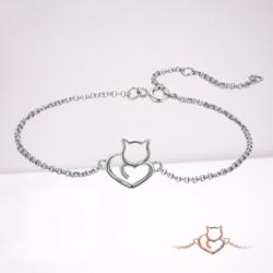 bracelet-chat-amour