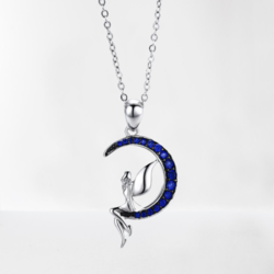 collier-fee-lune-argent